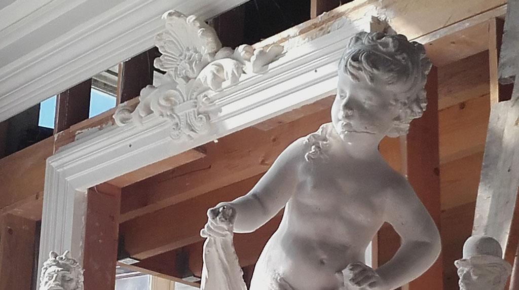 Statues et décors en plâtre
